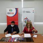 Acuerdo entre el Ministerio de SALUD-DNERHS y la UnInter
